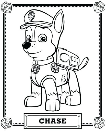 423x512 Marshall Paw Patrol Coloring Pages Paw Patrol Coloring Pages By