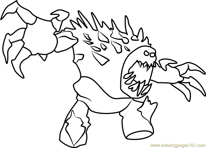 800x573 Angry Marshmallow Coloring Page
