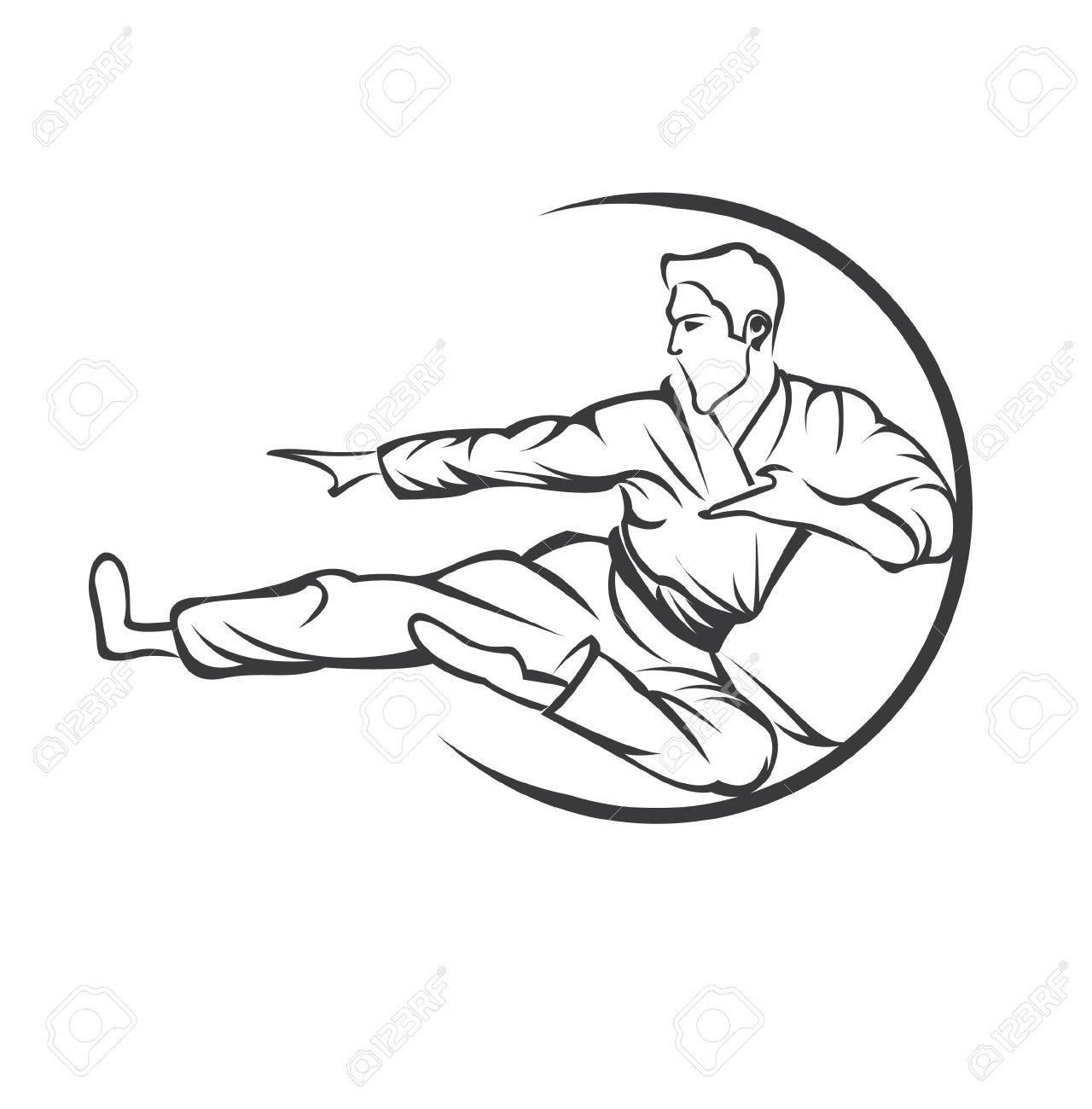 1280x1300 Martial Art Symbol Royalty Free Cliparts, Vectors, And Stock