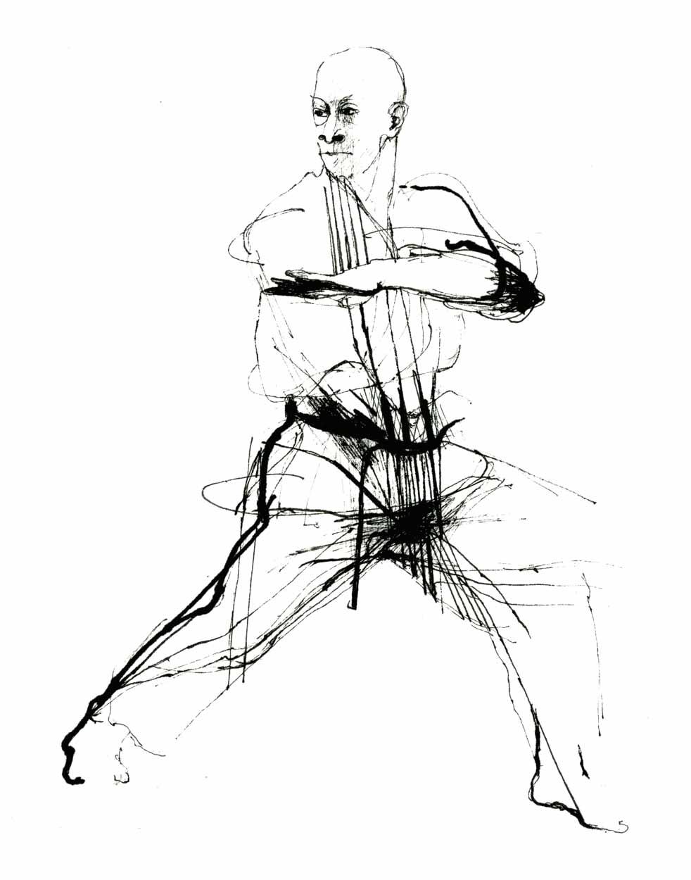 982x1250 Martial Arts Drawings, Jitte, Ten Hands