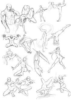 236x334 Martial Arts Posture Character Inspo Friends