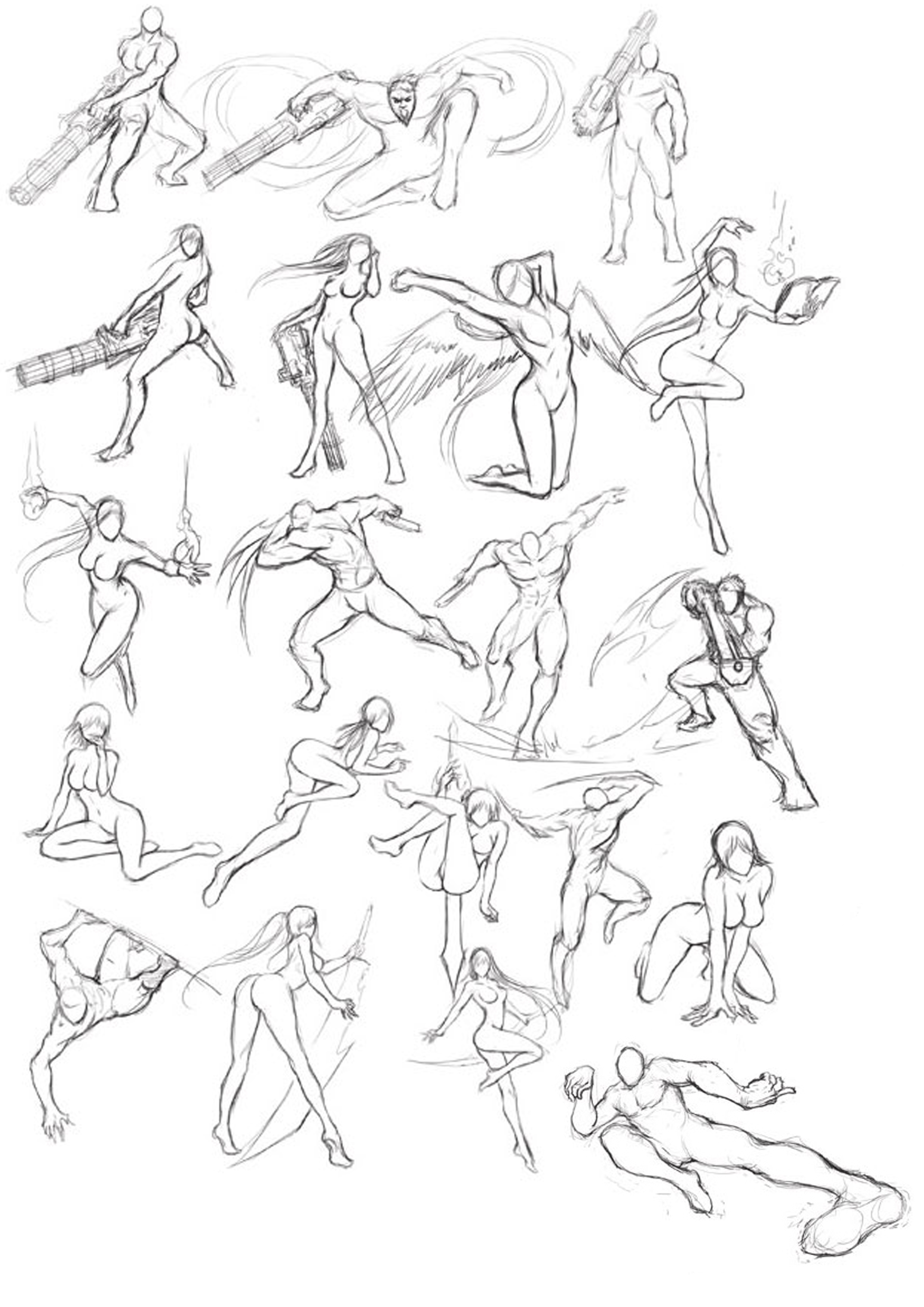 2480x3508 Martial Arts Posture I Learning How To Draw