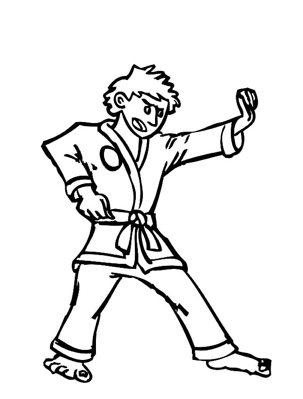 600x788 Coloring Pages Breathtaking Karate Coloring Pages Famous Martial
