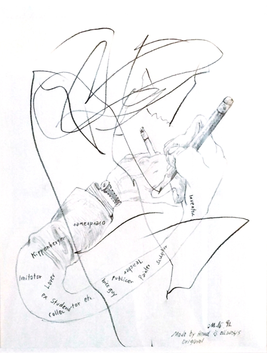 550x726 Made By Hand Is Always Original By Martin Kippenberger On Artnet