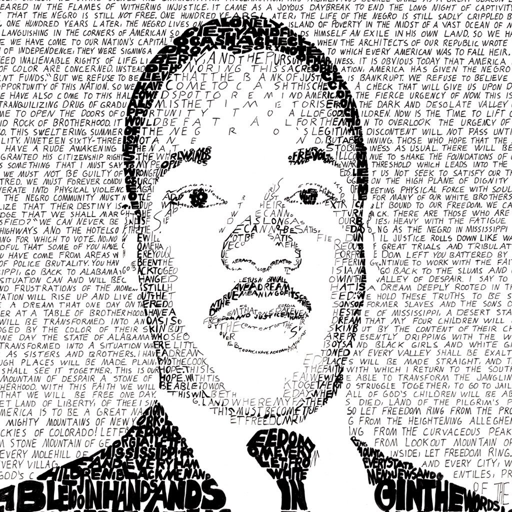 1024x1024 Martin Luther King Jr