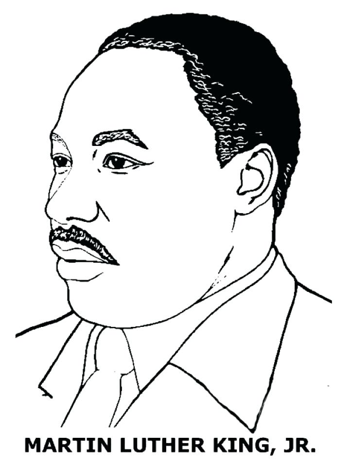 720x960 Minimalist Mlk Coloring Pages Kids Outstanding Martin King Easy