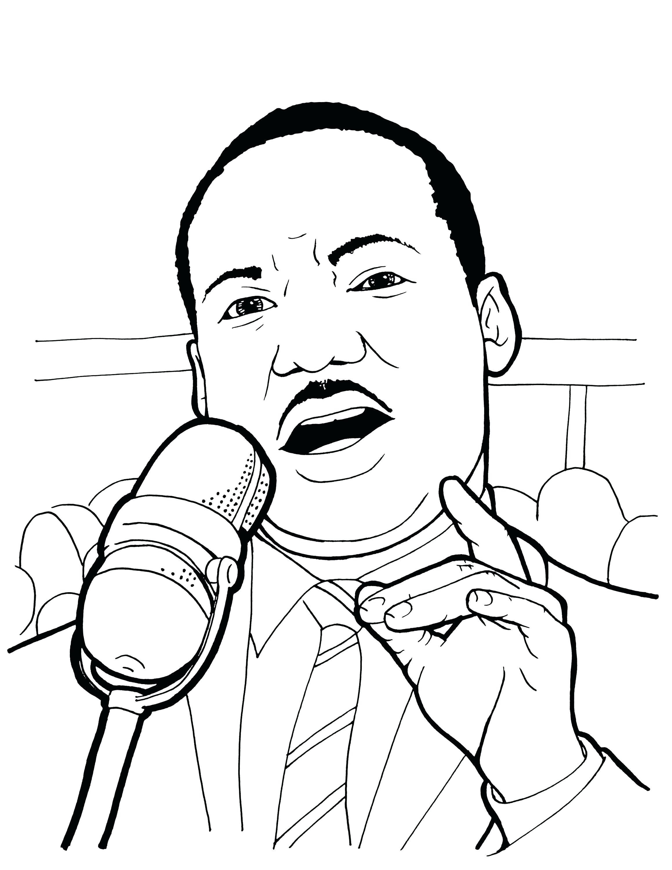 2318x3000 Coloring Martin Luther King Coloring Sheets Jr Story Book