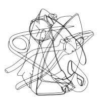 200x204 Drawing Michael Craig Martin And Line Drawing