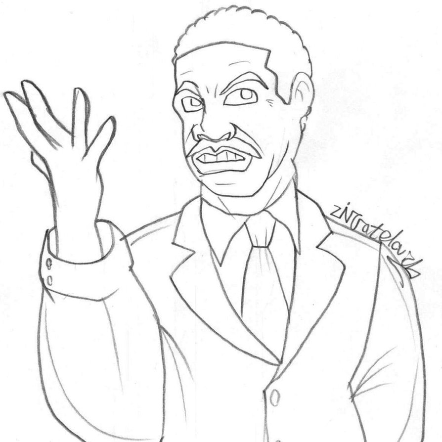 Martin Luther Drawing at GetDrawings | Free download