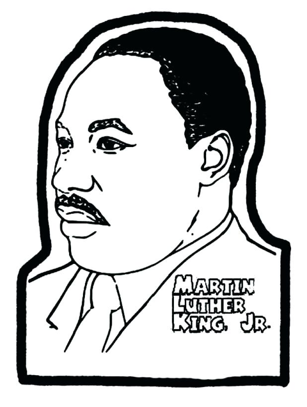 Martin Luther King Drawing at GetDrawings | Free download