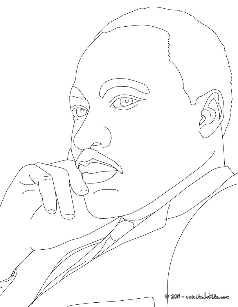 Martin Luther King Drawing at GetDrawingscom Free for personal