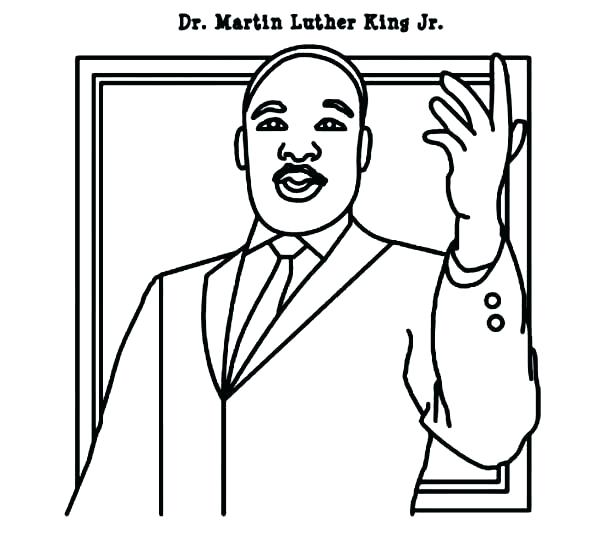 Martin Luther King Jr Drawing at GetDrawingscom Free for personal