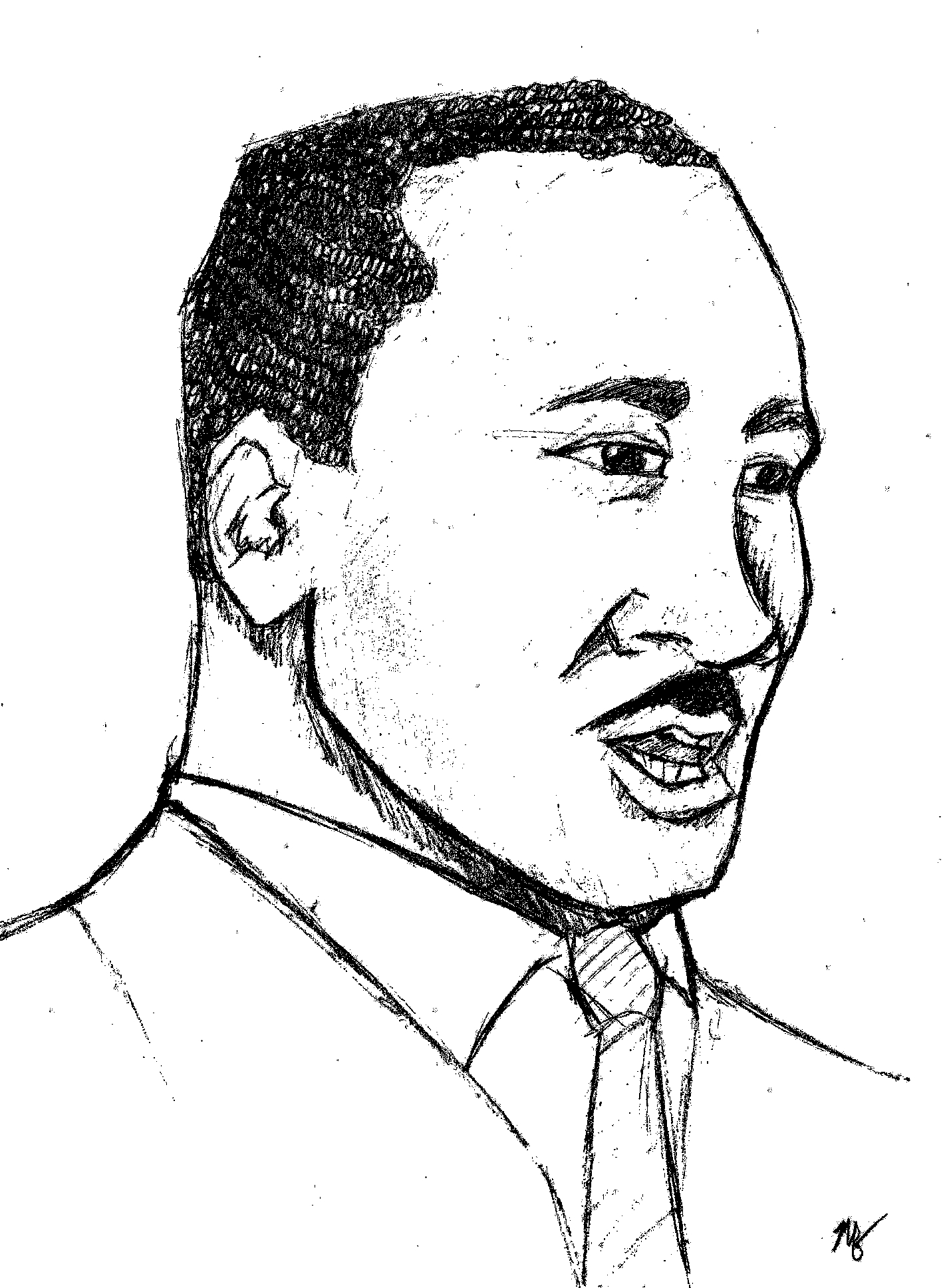 1421x1936 Martin Luther King, Jr.'s Letter There It Is Org