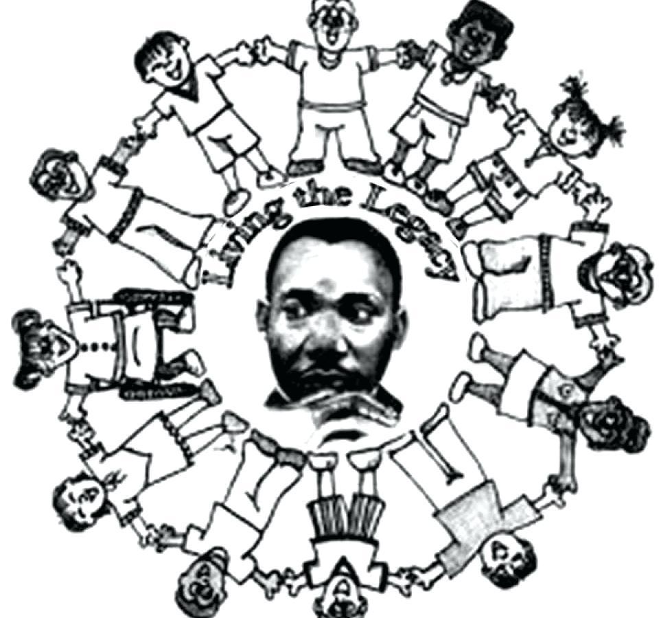 Atractivo Martin Luther King Jr Para Colorear Gratis Imagen - Ideas ...