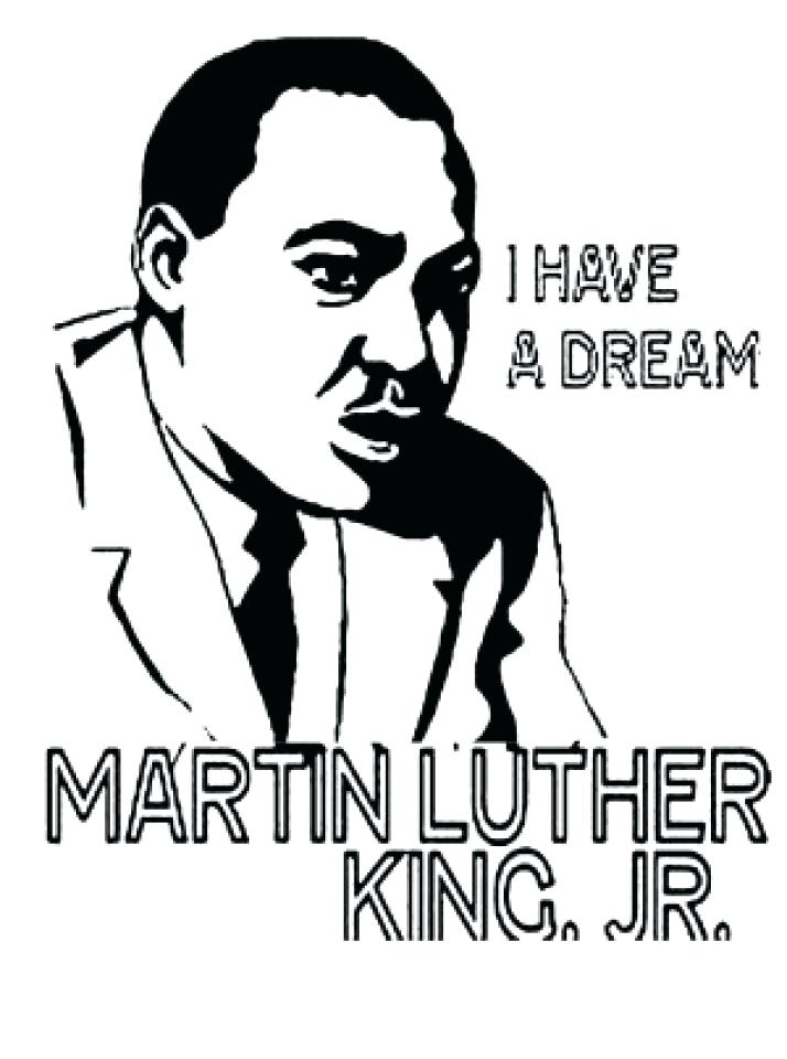 714x960 Coloring Pages Martin Luther King Jr School Student Drawing Martin