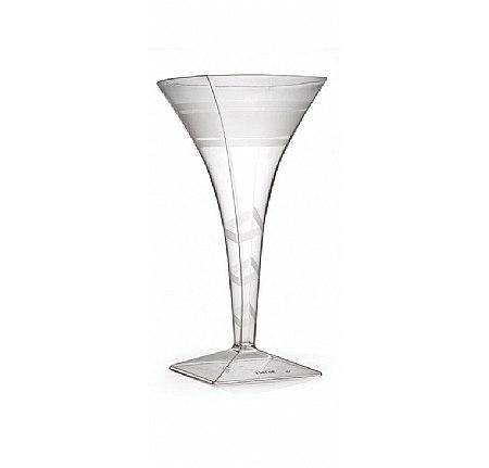 450x431 Pretty Clear 8 Oz. Plastic Martini Glass