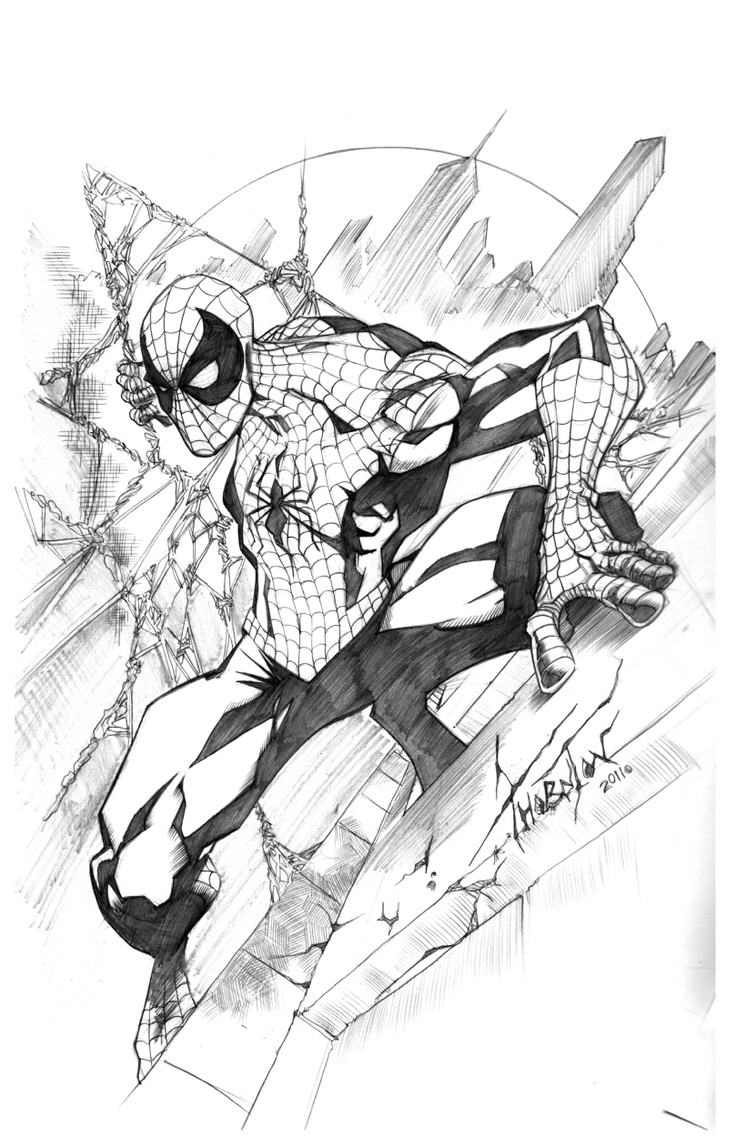 Marvel Comics Drawing