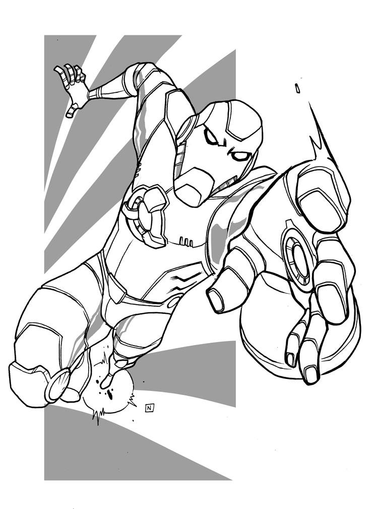 738x1009 I Wanna Draw For Marvel Comics 1 Iron Man By Nandop