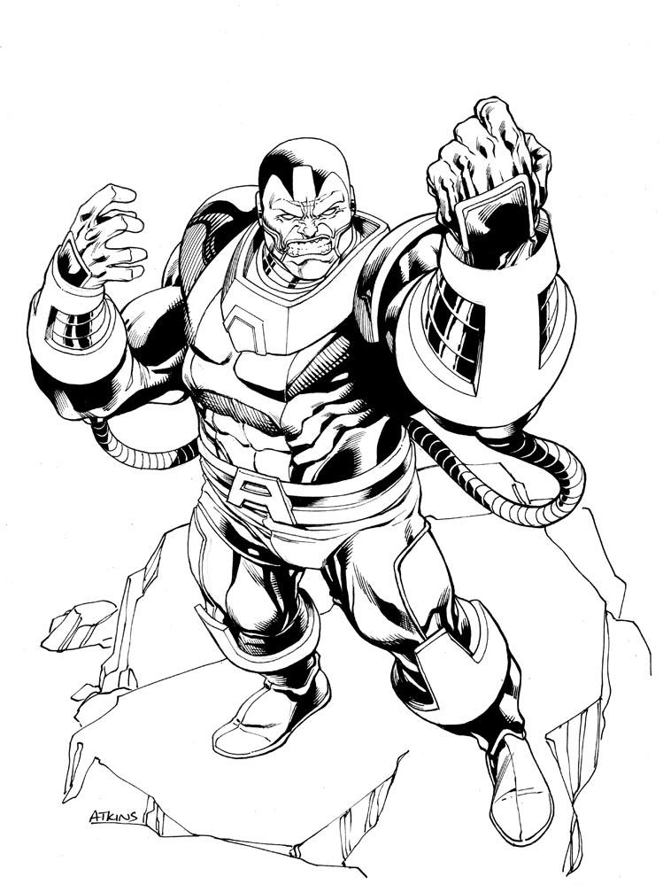 749x1007 X Men Month Apocalypse Sotd By Robert Atkins Comic Book
