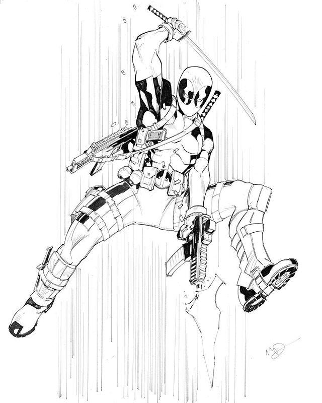 640x800 Deadpool By Max Dunbar