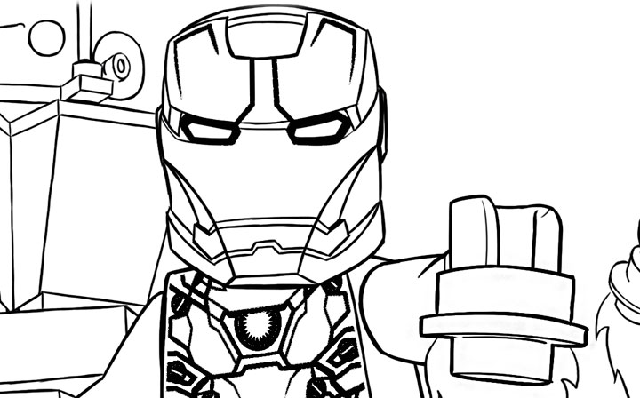720x448 lego marvel superheroes coloring pages
