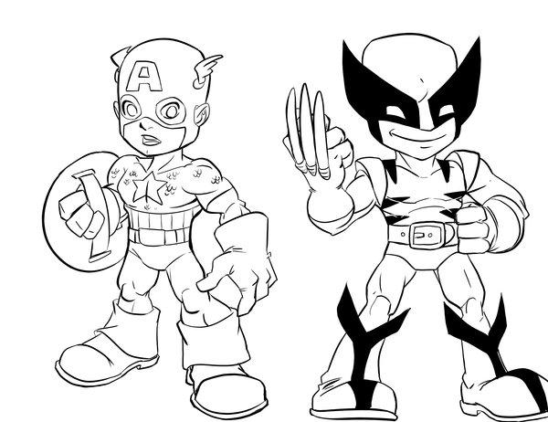 600x462 Marvel Shs Characters 1 By Eduardogarciag