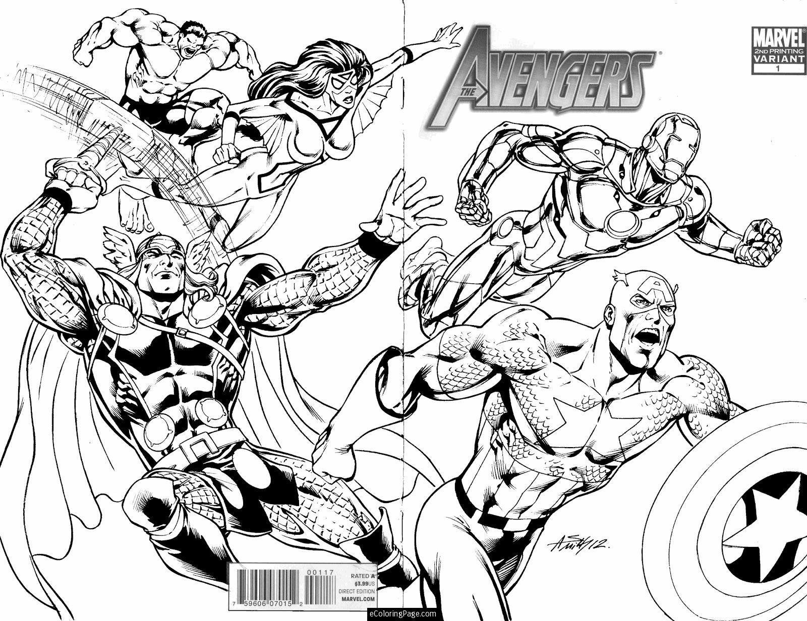 1600x1232 Marvel Characters Coloring Pages Free Draw To Color