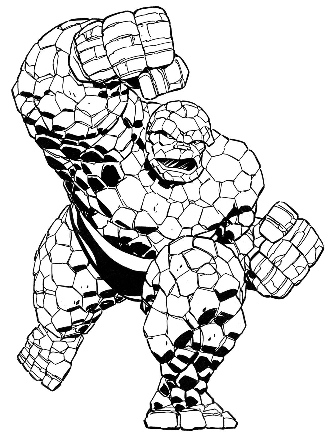 Marvel Superheroes Drawing at GetDrawings.com   Free for personal ...