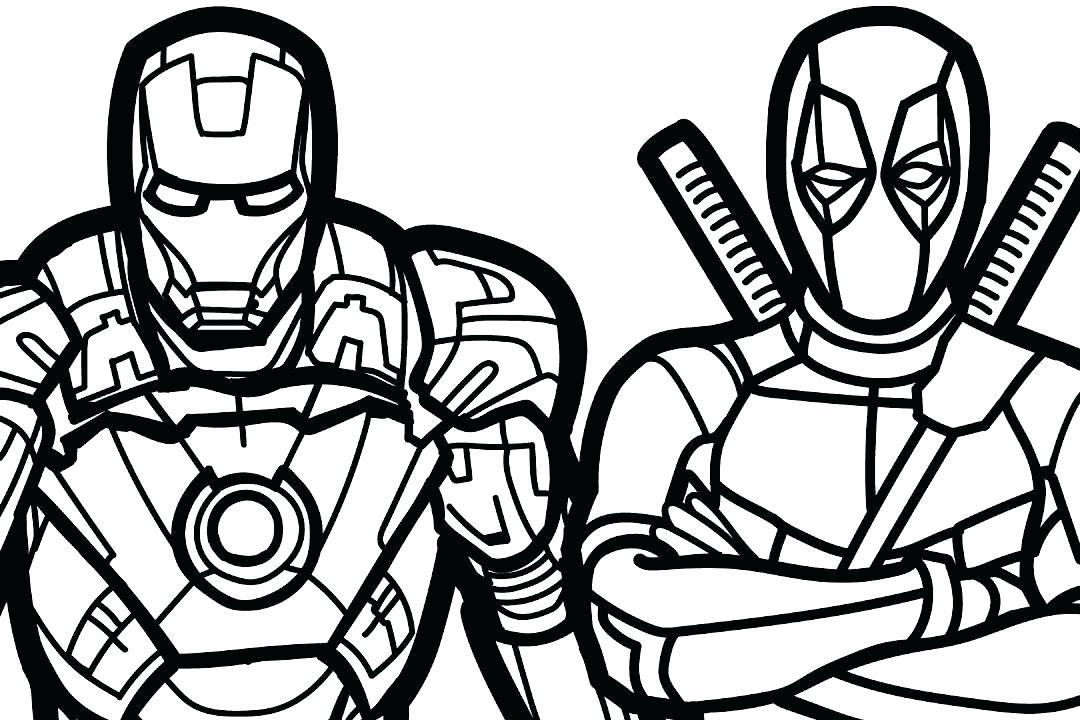 Marvel Superheroes Drawing At Getdrawings Com Free For Personal