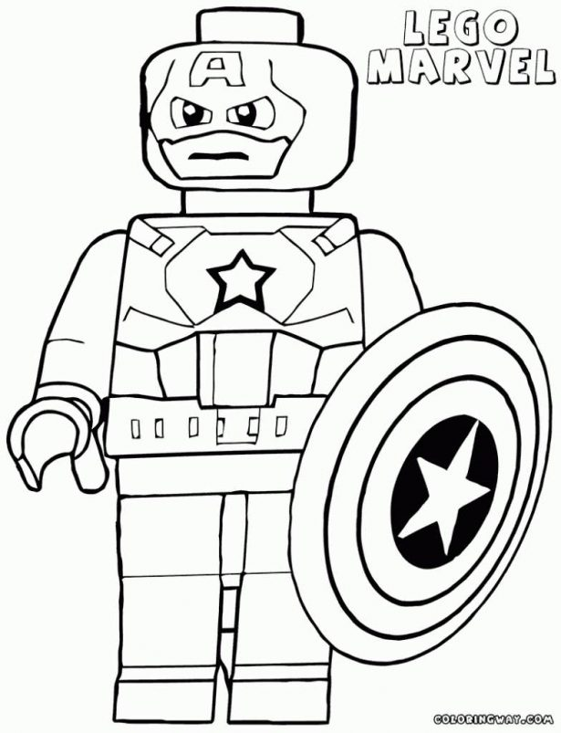 615x803 Enchanting Lego Marvel Superheroes Coloring Pages 43 For Seasonal