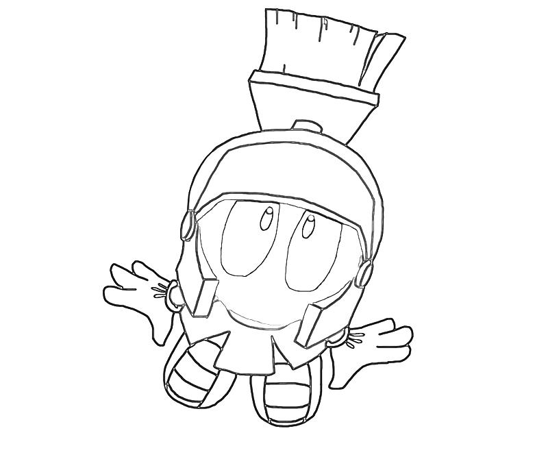 800x667 Innovative Marvin The Martian Coloring Pages F