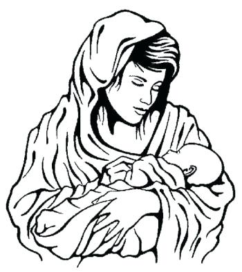 350x394 Mary Mother Of Jesus Coloring Pages Mother Of Coloring Pages