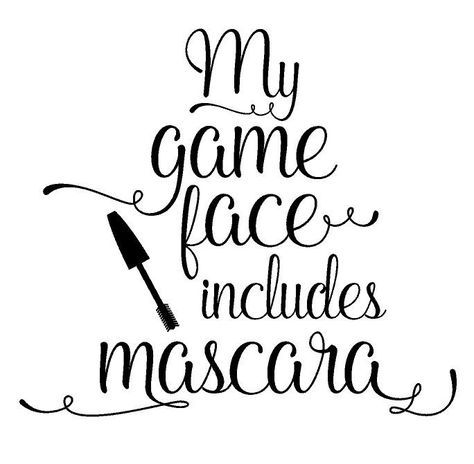 474x464 My Game Face Includes Mascara Younique T Shirt Lilacs, Mary Kay