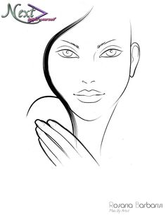 236x305 36 Awesome Blank Face Charts Images Blank Face Charts