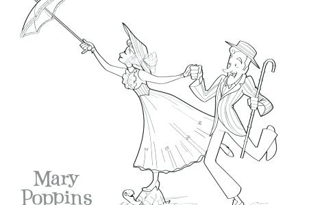 470x300 Mary Poppins Coloring Page Coloring Mary Poppins Coloring Sheets