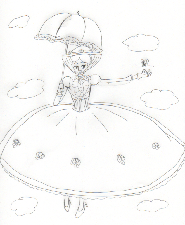 633x771 Mary Poppins By Aquateen510