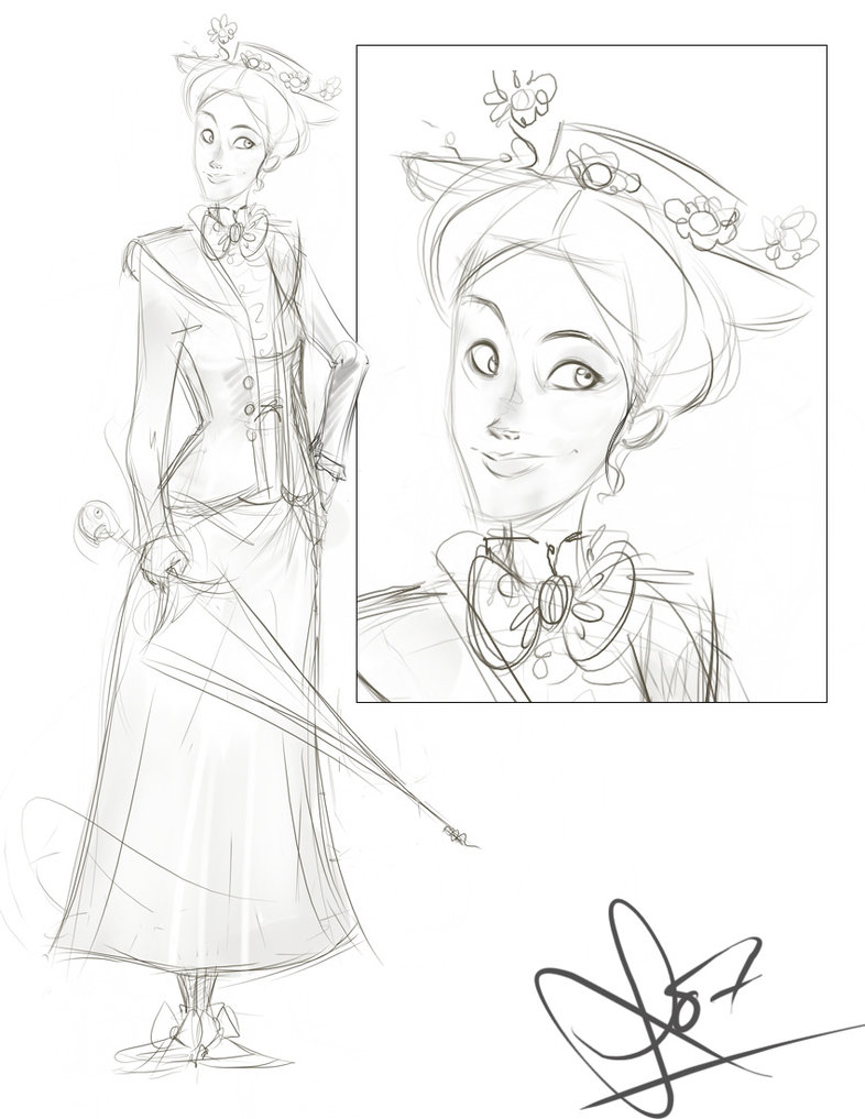 786x1017 Mary Poppins By Vimfuego