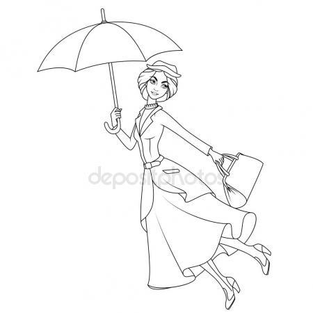 450x450 Mary Poppins Stock Vectors, Royalty Free Mary Poppins