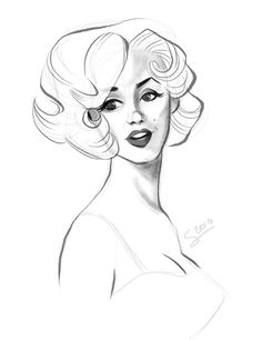 236x306 Just Trying Out Some New Brushes! Featuring Marilyn Monroe Ofc