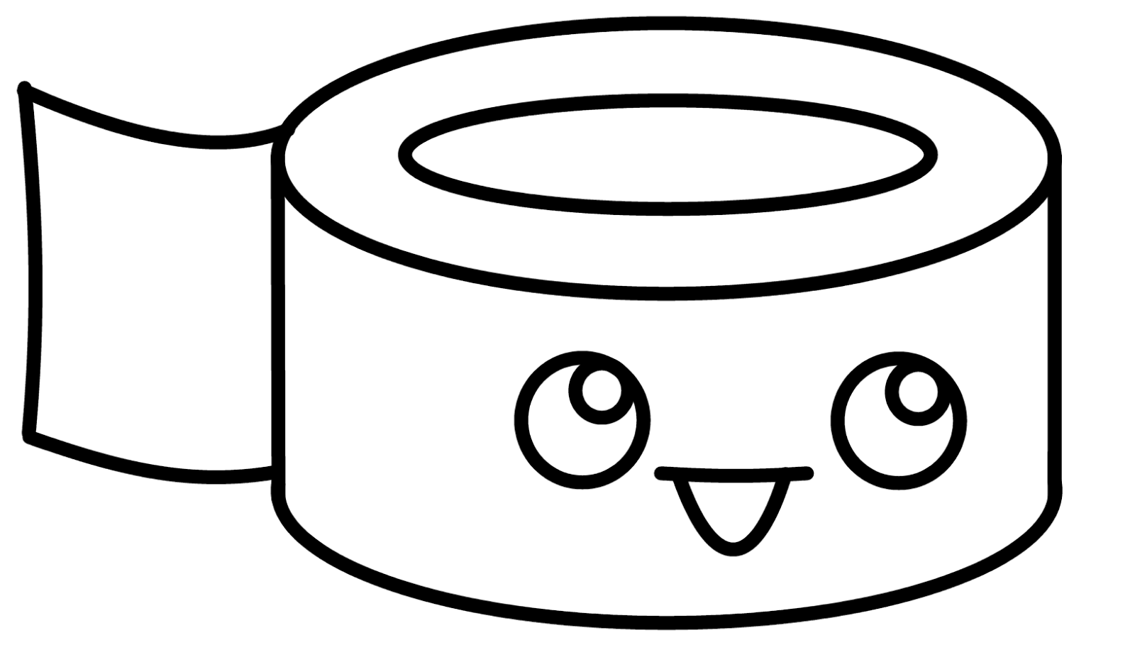 1600x909 Cute N Kawaii How To Draw Kawaii Duct Tape
