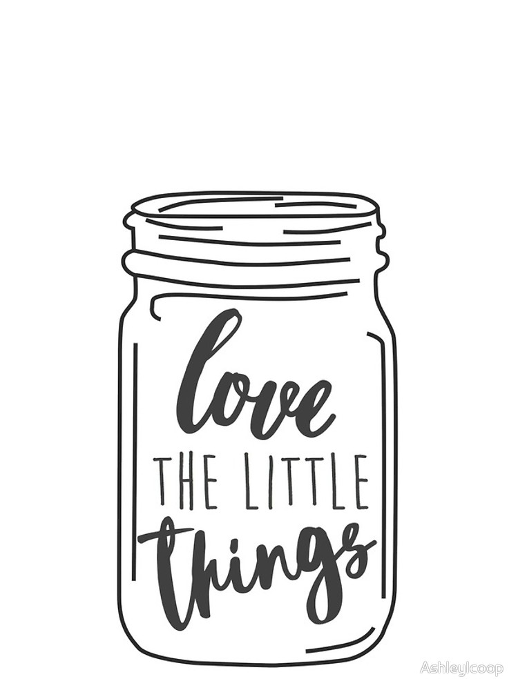 750x1000 Enjoy The Little Things Mason Jar Quote Iphone Cases Amp Skins By