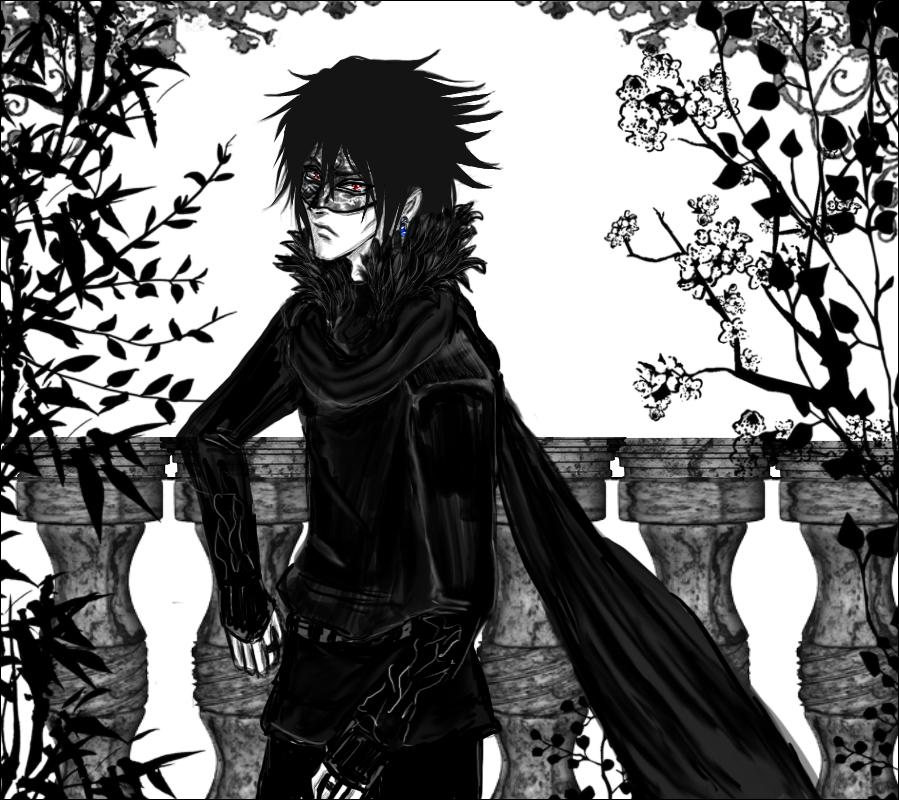 899x800 Death Behind Mask [Masquerade Sasuke] By Ariadnia