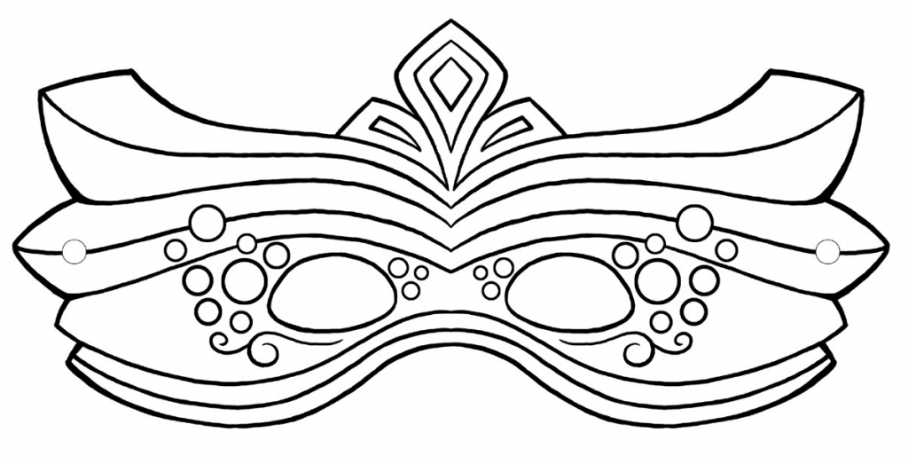 1024x523 Masquerade Masks Coloring Pages And Pictures To Colour