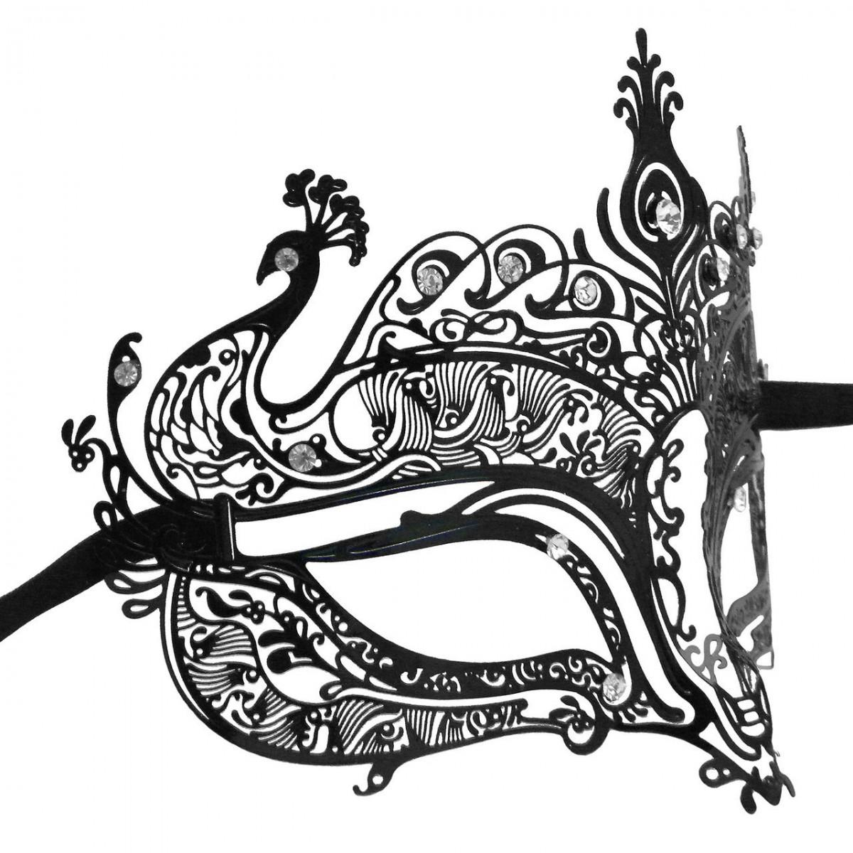 1200x1200 Venetian Mask In London For Her Peacock Filigree Swarovski Crystal