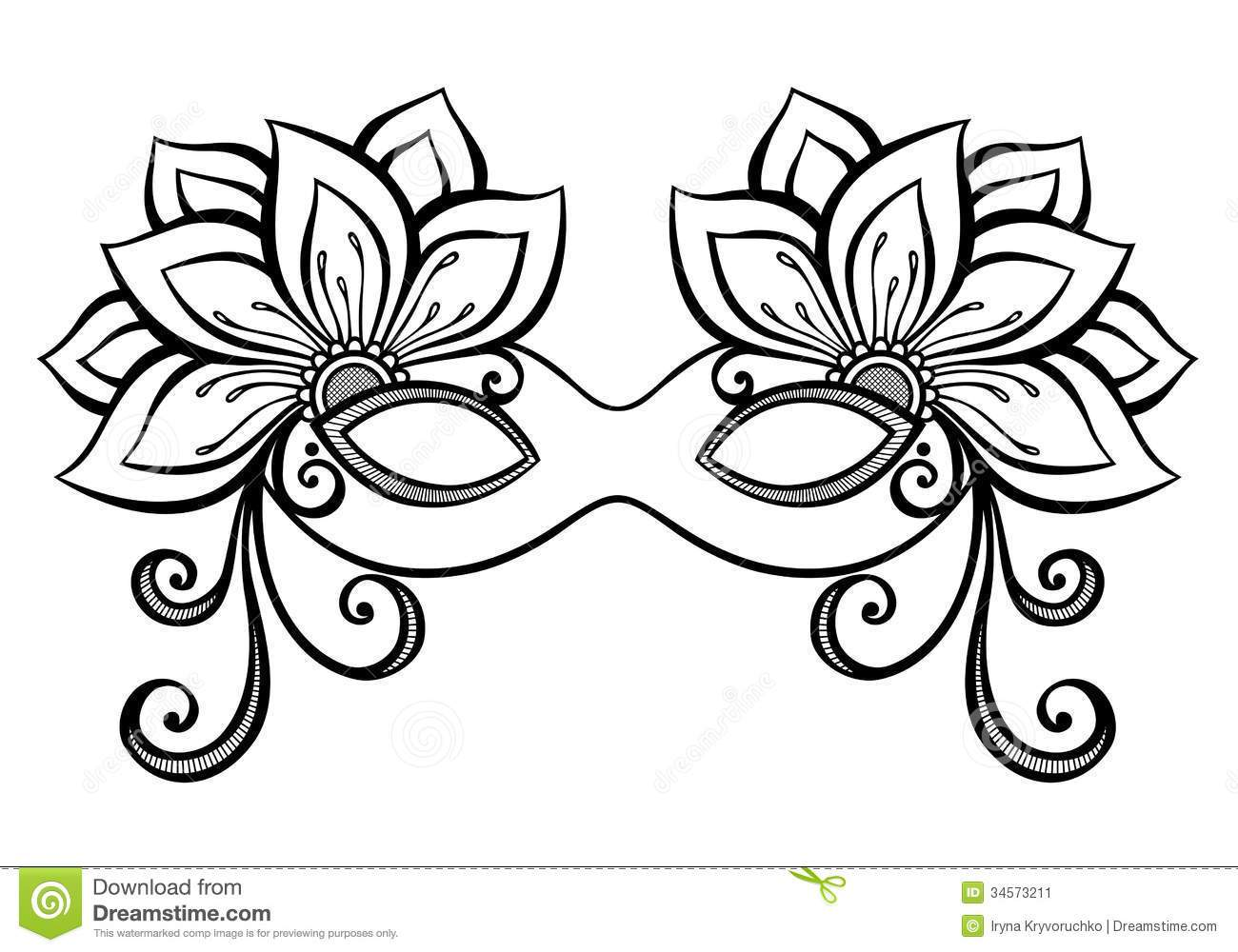 1300x1000 Masquerade Masks Coloring Pages Coloring Page For Kids