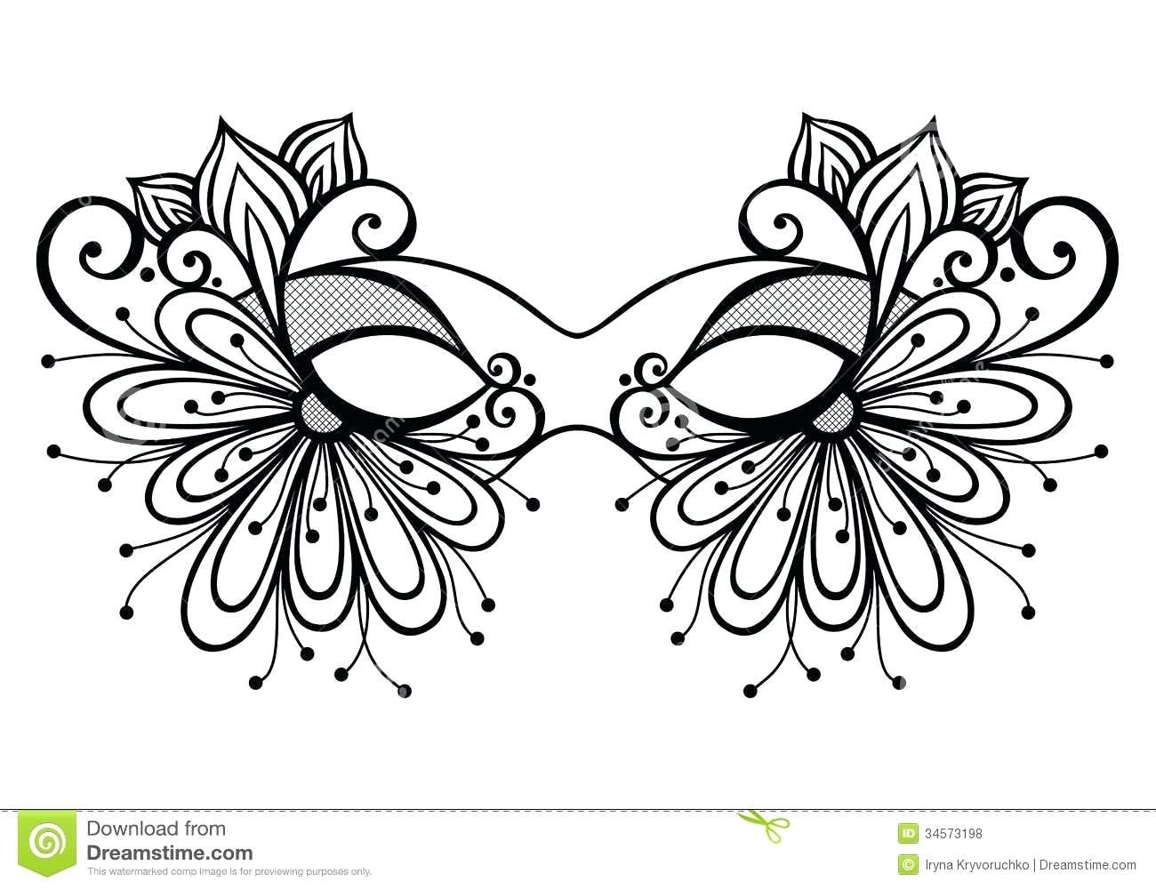 Masquerade Masks Drawing at GetDrawings.com | Free for personal use ...