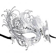 230x230 Buy Lovers Men And Women Couple Metal Laser Cut Masquerade Masks