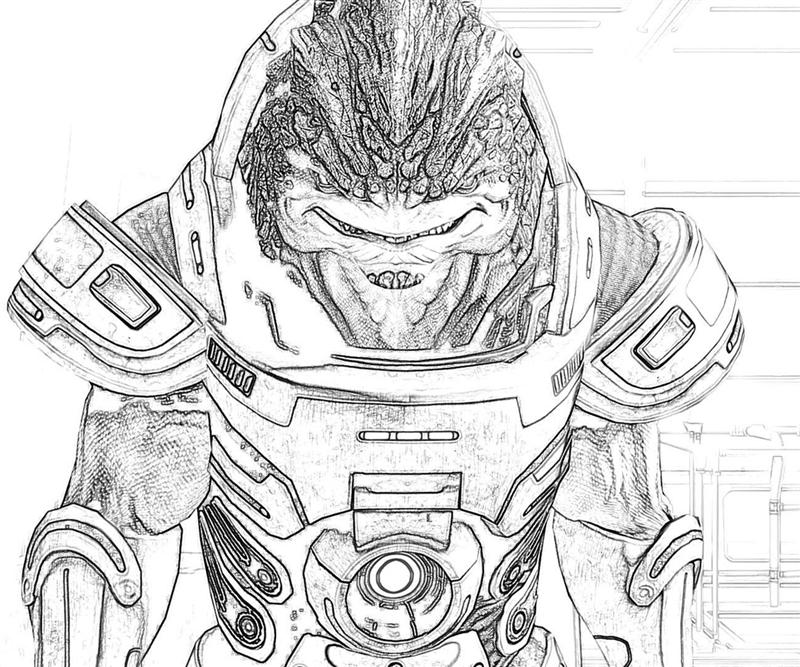 800x667 Mass Effect 3 In Sketch Yumiko Fujiwara