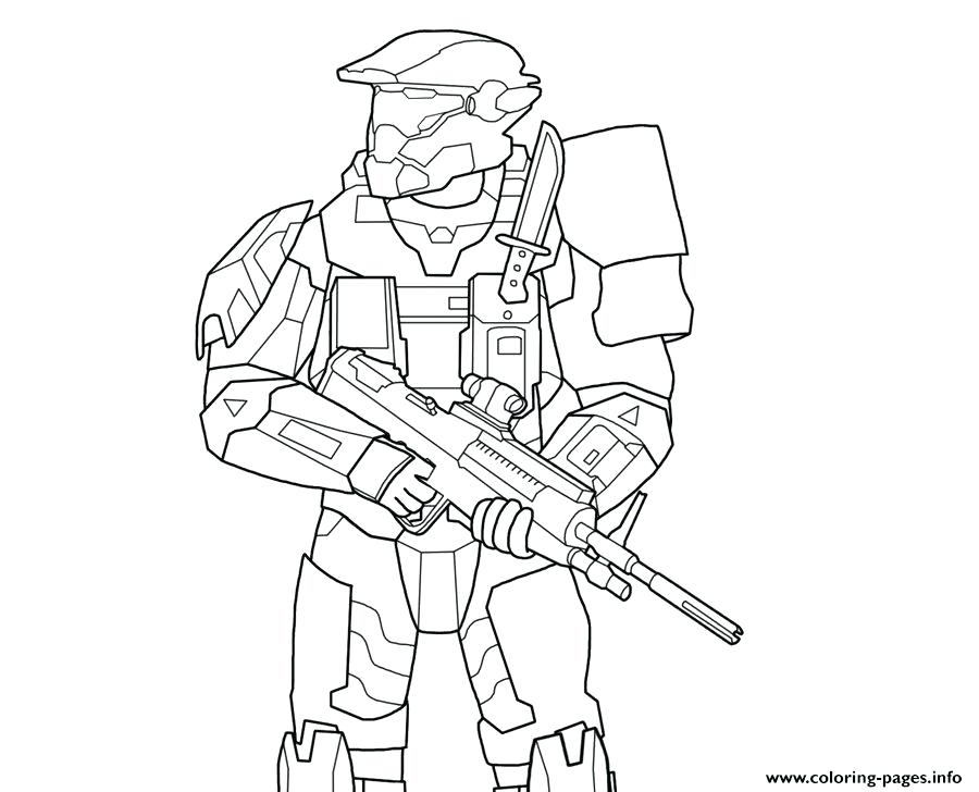 Master Chief Helmet Drawing