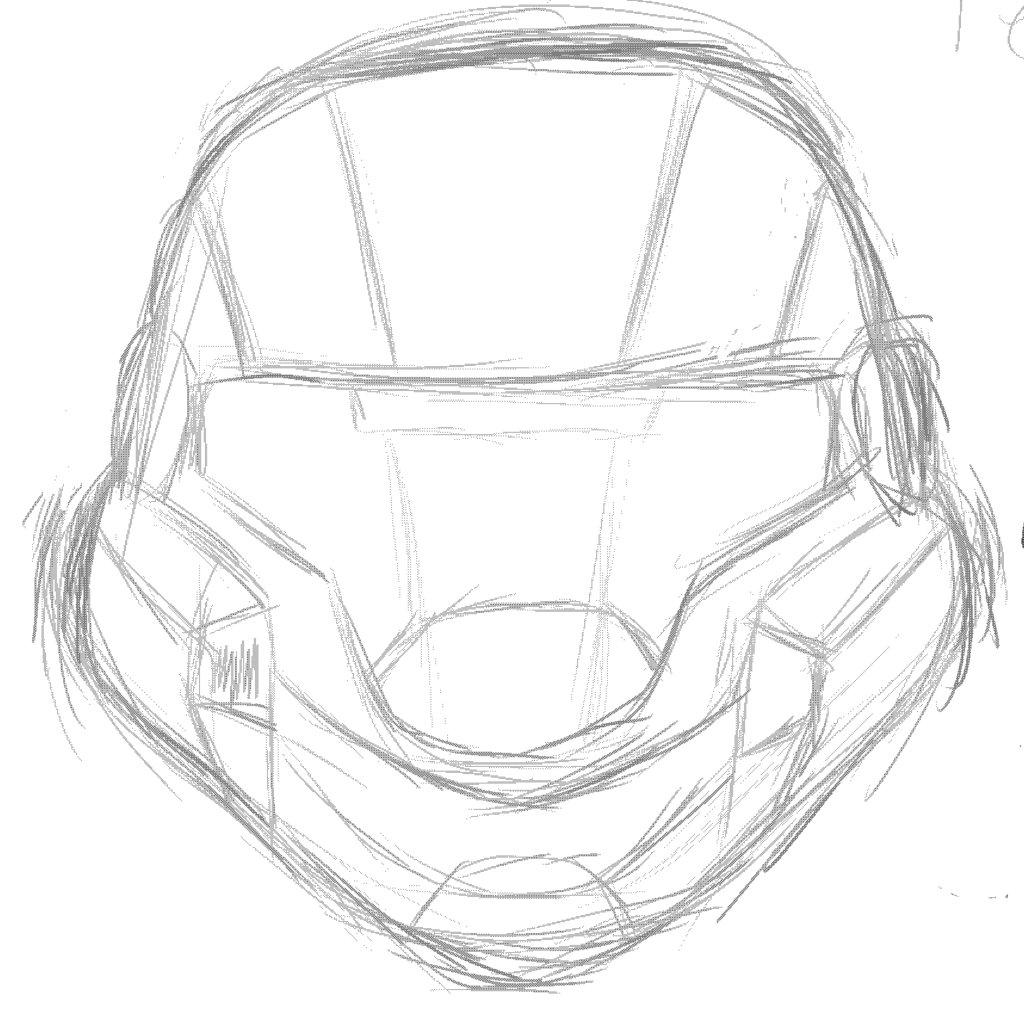 1024x1034 Odst Helmet By Ibbolia